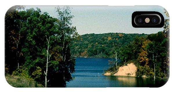 Brookville Lake Brookville Indiana IPhone Case