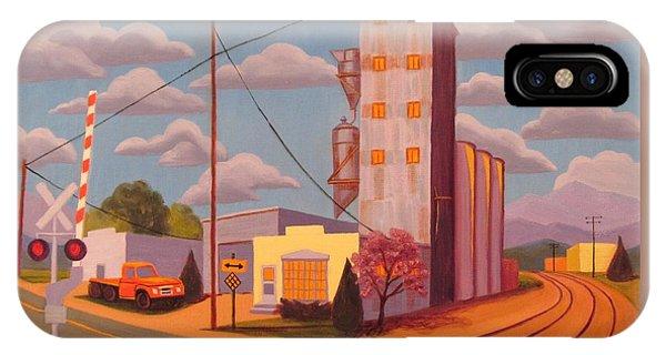 Broomfield Grain Elevator IPhone Case