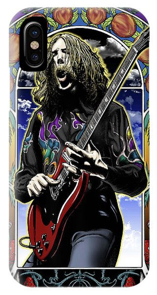 Eric Clapton iPhone Case - Brother Duane by Gary Kroman