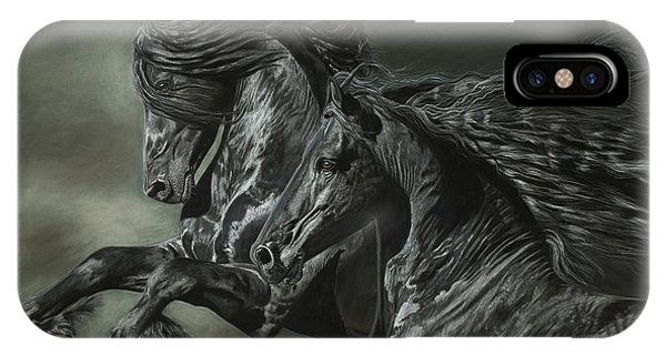 Brothers On The Wind IPhone Case