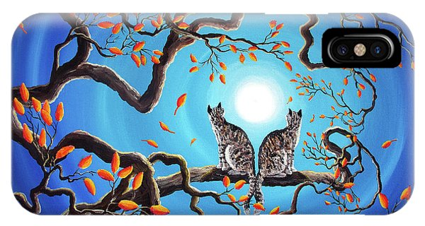 Brothers Under A Blue Moon IPhone Case