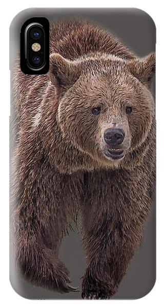 Brown Bear 8   IPhone Case