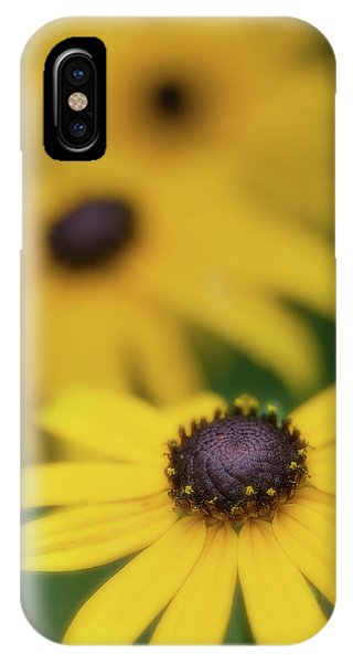 IPhone Case featuring the photograph Brown Eyed Susan by Bob Cournoyer