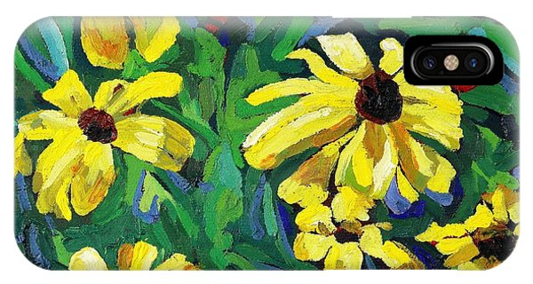Brown-eyed Susans IPhone Case