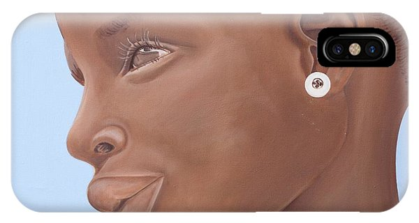 Brown Introspection IPhone Case