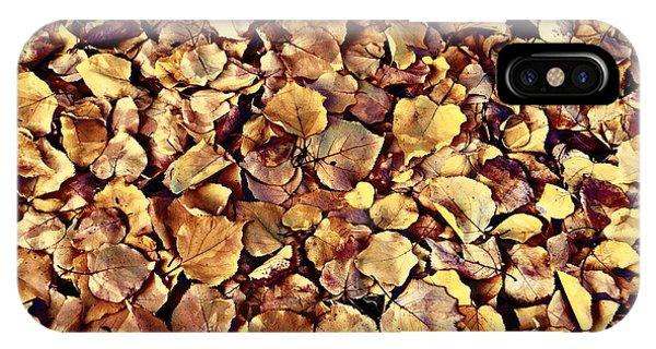 Browning Leaves IPhone Case