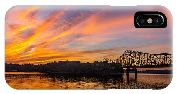 Browns Bridge Sunset IPhone Case