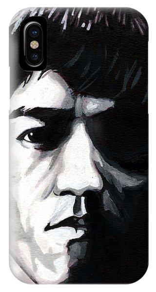 Bruce Lee Portrait IPhone Case
