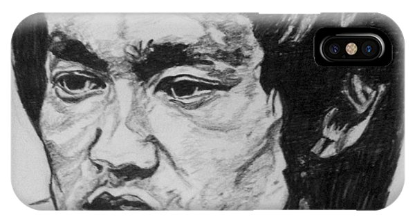 iPhone Case - Bruce Lee by Rachel Natalie Rawlins