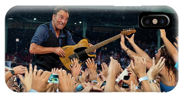 Bruce Springsteen At Fenway Park IPhone Case