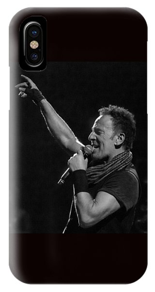 Bruce Springsteen In Cleveland IPhone Case