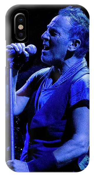 Bruce Springsteen-penn State 4-18-16 IPhone Case