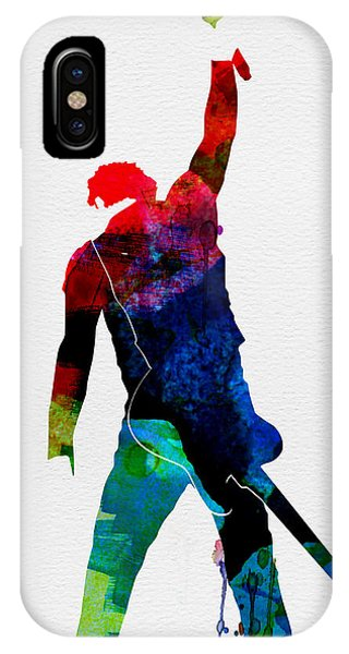 Musicians iPhone Case - Bruce Watercolor by Naxart Studio