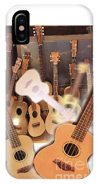 Bruce's Ukuleles IPhone Case