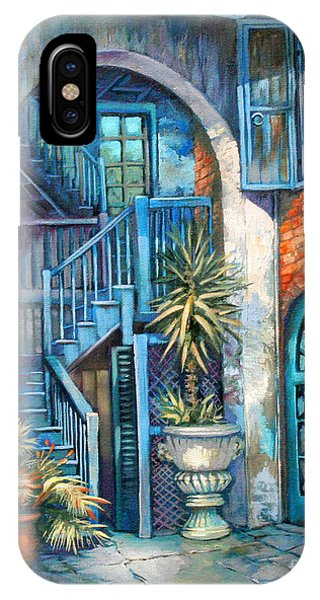 Brulatour Courtyard IPhone Case