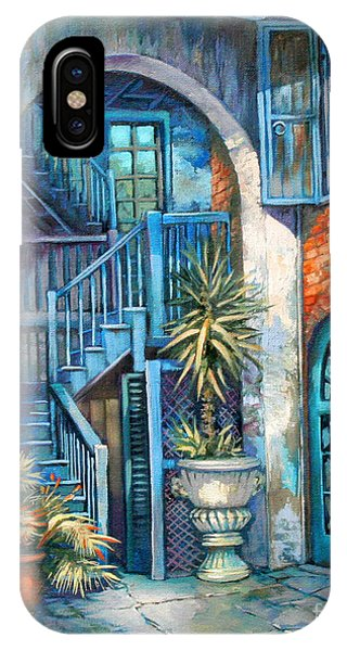 French Artist iPhone Case - Brulatour Courtyard by Dianne Parks