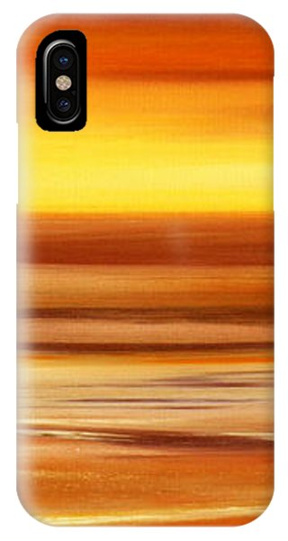Hawaiian Sunset iPhone Case - Brushed 3 by Gina De Gorna