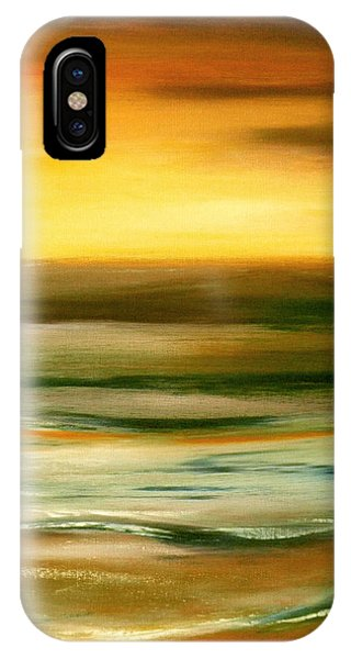 Hawaiian Sunset iPhone Case - Brushed 7 by Gina De Gorna