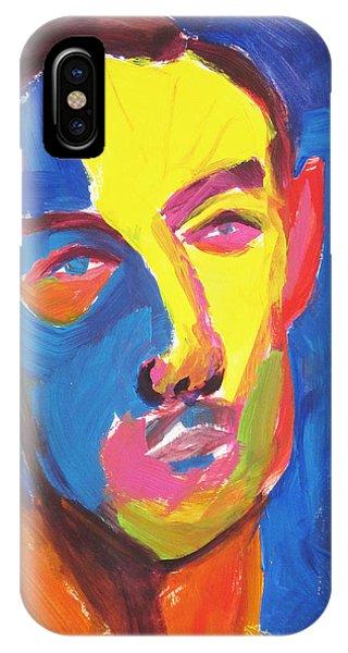 Bryan Portrait IPhone Case