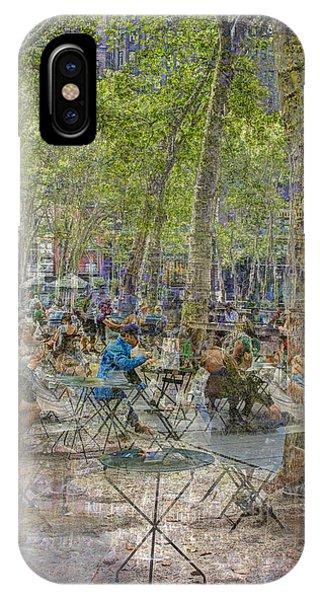 Bryant Park Collage 2 IPhone Case