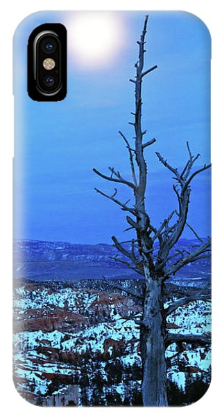 Bryce Blue IPhone Case
