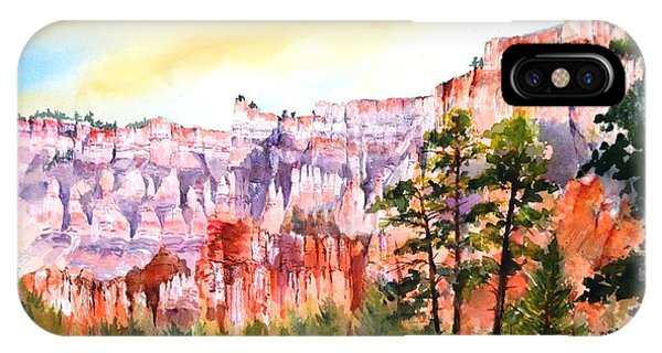 Bryce Canyon #3 IPhone Case