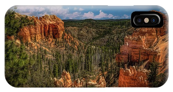 Bryce Canyon From The Top IPhone Case