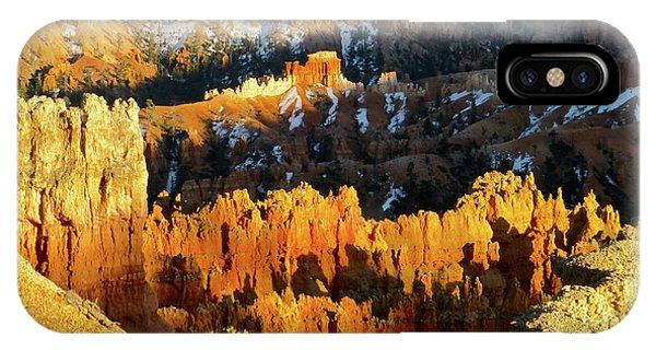 Bryce Canyon Hoodoos Evening IPhone Case