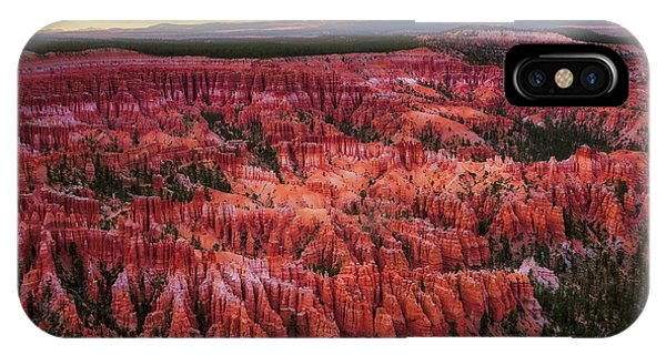 Bryce Canyon In The Glow Of Sunset IPhone Case