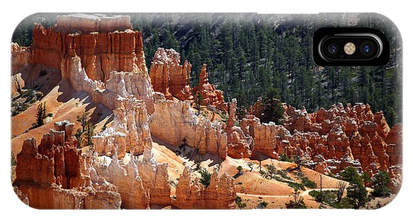 Mountain iPhone X Case - Bryce Canyon  by Jane Rix