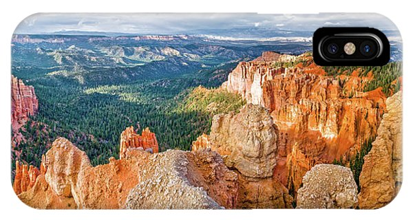 Us National Parks iPhone Case - Bryce Point by Delphimages Photo Creations