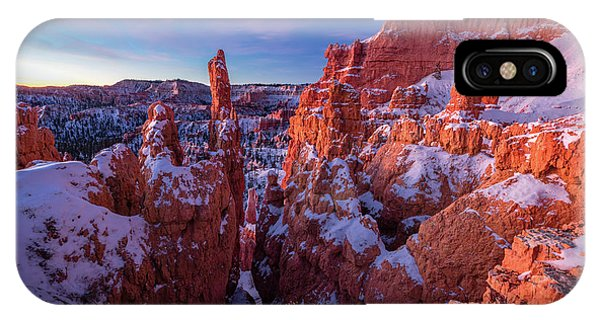 Beautiful Sunrise iPhone Case - Bryce Tales by Edgars Erglis