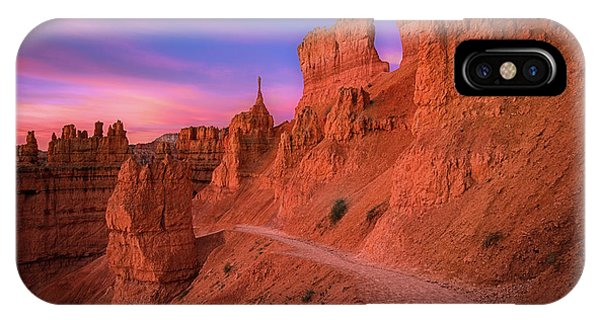 Beautiful Sunrise iPhone Case - Bryce Trails by Edgars Erglis