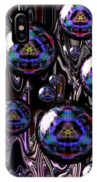 Bubble Abstract 1a IPhone Case