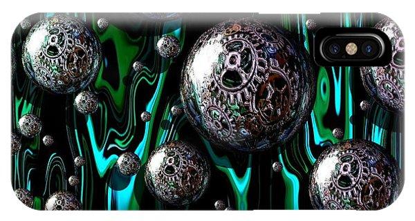 Bubble Abstract 1e IPhone Case