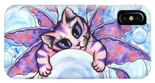 Bubble Fairy Kitten IPhone Case