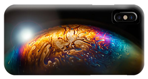 Astral iPhone Case - Bubble Planet I  by Maggie Terlecki
