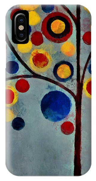 Bubble Tree - Dps02c02f - Left IPhone Case