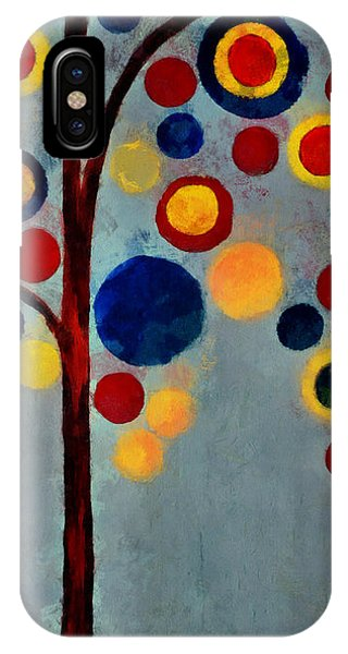 Bubble Tree - Dps02c02f - Right IPhone Case