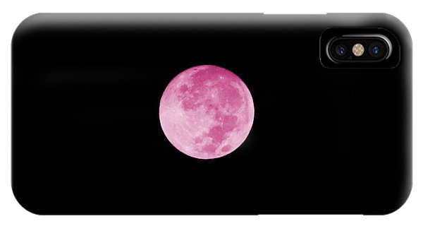 Bubblegum Moon IPhone Case