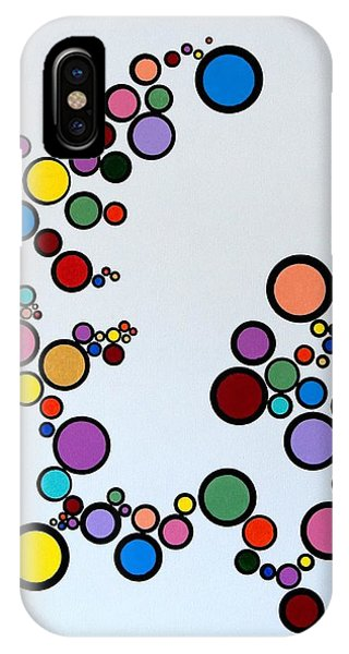Bubbles2 IPhone Case