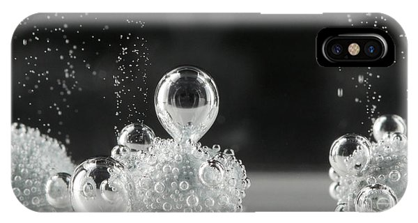 IPhone Case featuring the photograph Bubbling by Beauty of Science