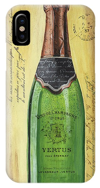 Bar iPhone Case - Bubbly Champagne 2 by Debbie DeWitt