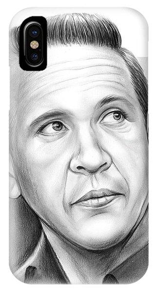 Buck iPhone Case - Buck Owens by Greg Joens