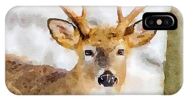 Buck Profile IPhone Case