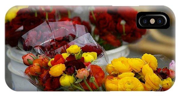 Bucket Of Flowers Phone Case by Joyce Sherwin