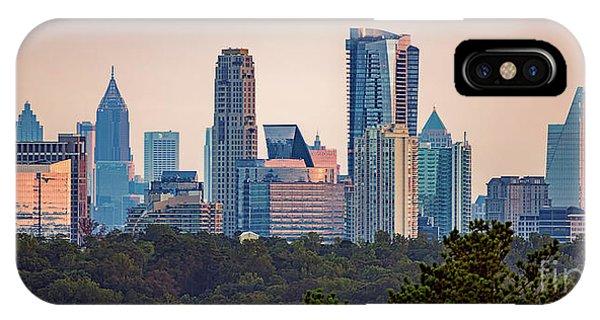 Buckhead Atlanta Skyline IPhone Case