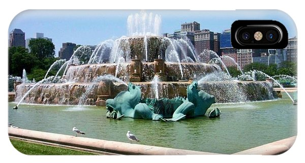 Chicago iPhone Case - Buckingham Fountain by Anita Burgermeister