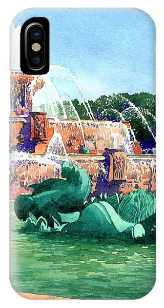 Buckingham Fountain IPhone Case