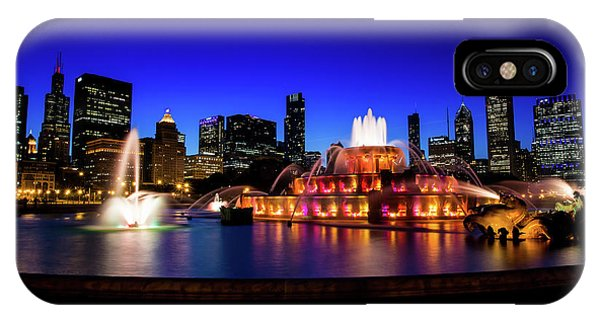 Buckingham Memorial Fountain IPhone Case